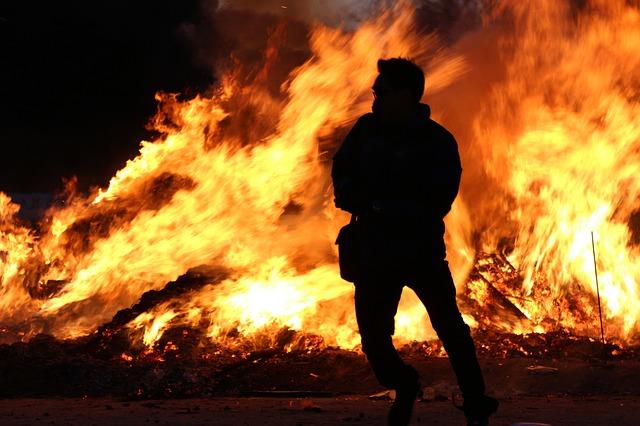 #4 – Pożar krzaków