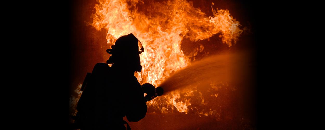 19# Pożar elewacji