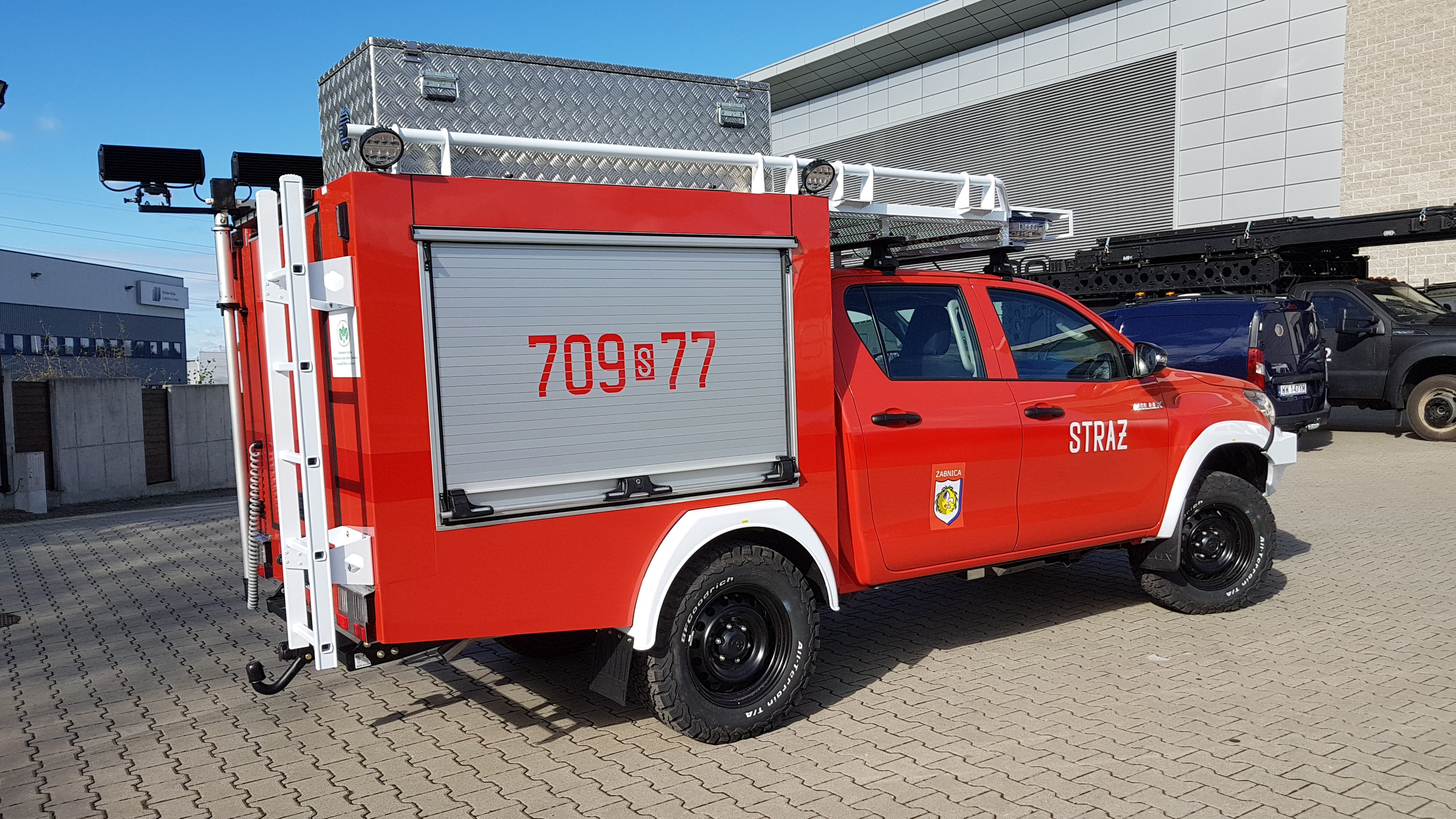 Nowy samochód ratowniczo-gaśniczy