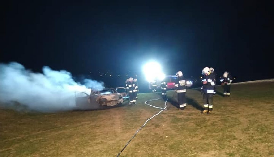 7# Pożar samochodu